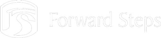 Forward Steps white logo